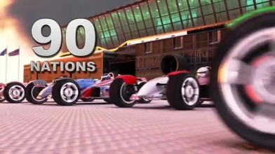 TrackMania 2 Stadium - Трейлер релиза