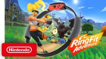 Релизный трейлер игры Ring Fit Adventure
