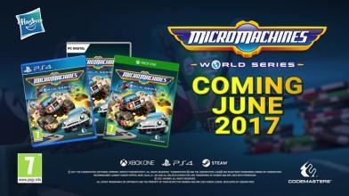 Дата выхода и первый геймплей Micro Machines World Series