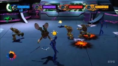 """Геймплей игры """"Nickelodeon's Teenage Mutant Ninja Turtles"""""""