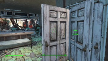 Weird Fallout 4 Door Glitch