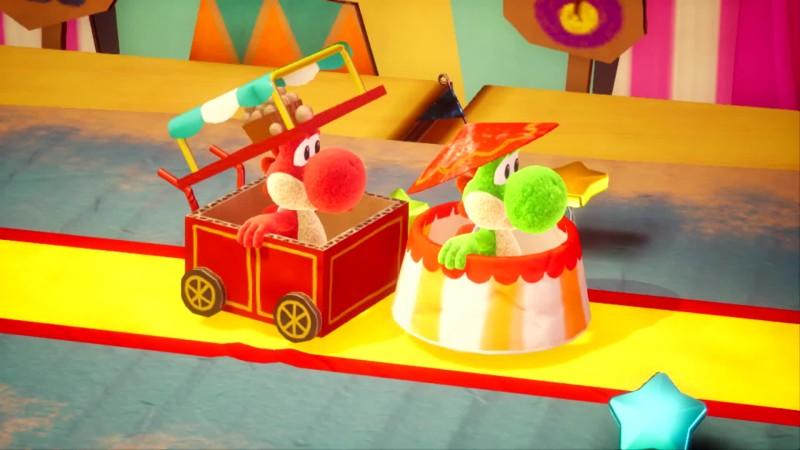 Yoshi's Crafted World - Подружитесь с Йоши!