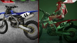 Сравнение - MX vs ATV Supercross Encore (2015) vs. Monster Energy Supercross (2018) | ULTRA | RX 580