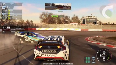 Project CARS 2 - E3 2017, Honda Civic GRC, Loheac