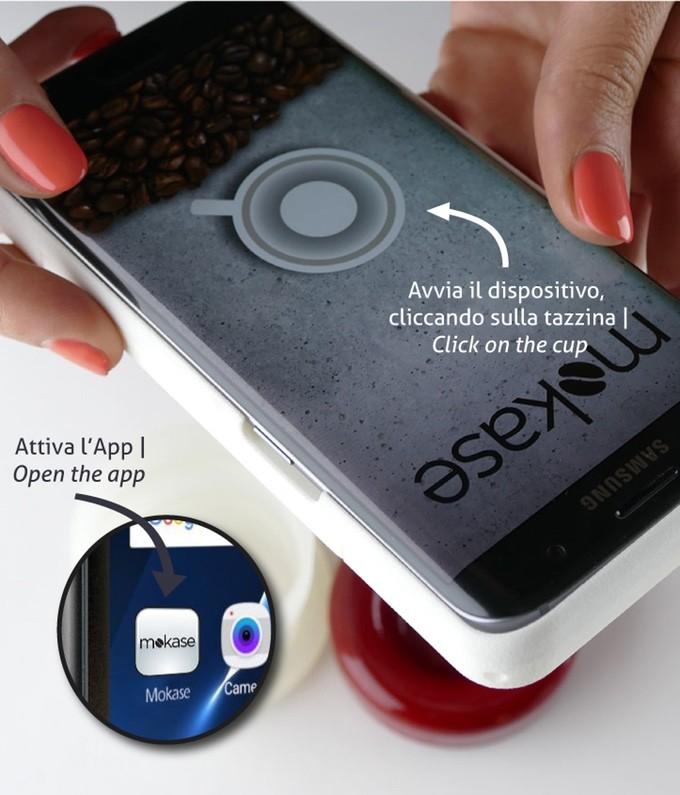 ВИталии представлен смартфонный чехол Mokase для приготовления кофе
