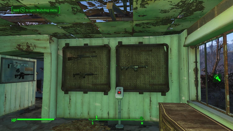 Новые стойки гг в fallout 4