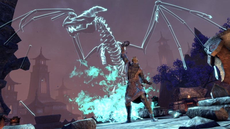 Проекция призыва костяного дракона