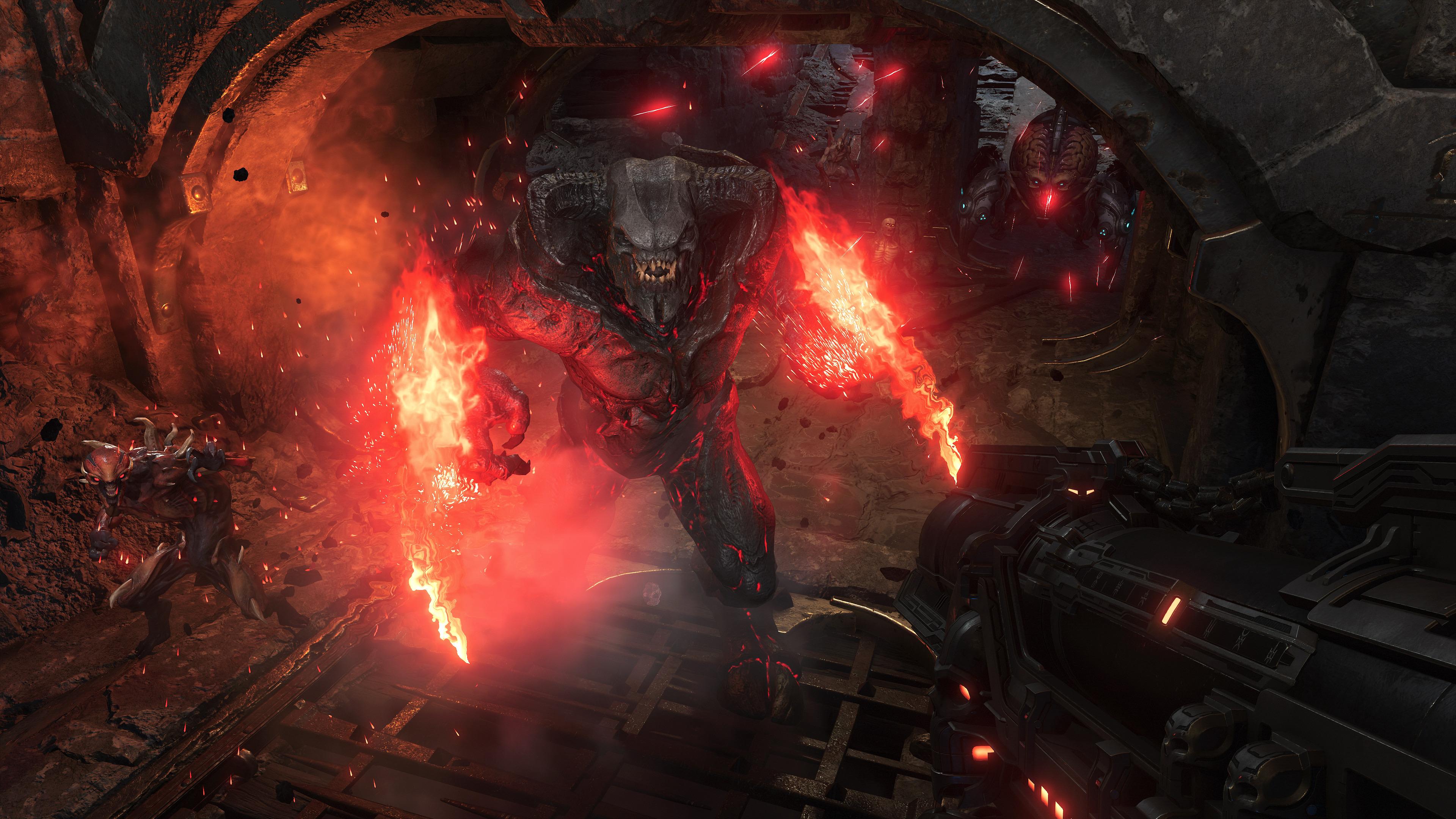 id Software: 'Doom Eternal - это 'нездоровая пища', и мы гордимся этим'