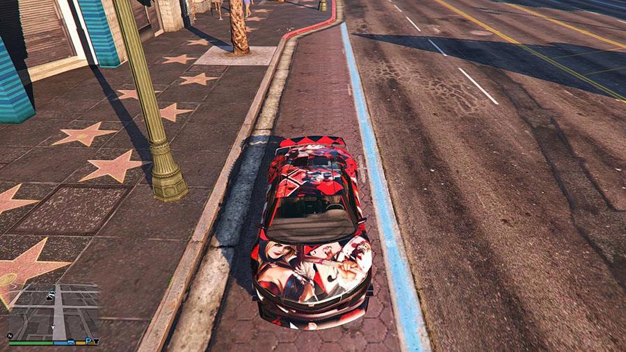 "Grand Theft Auto 5 ""Раскраска DC Harley Quinn для Jester ..."