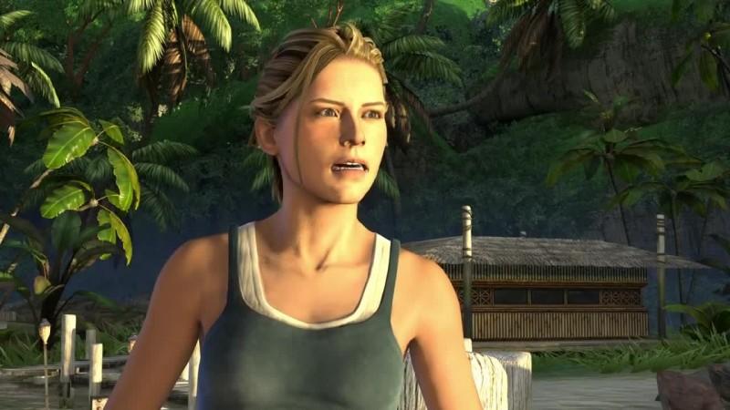 Трой Бейкер и Нолан Норт играют в Uncharted: Drake's Fortune