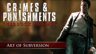 Sherlock Holmes: Crimes & Punishments - маскировка и одна из мини-игр
