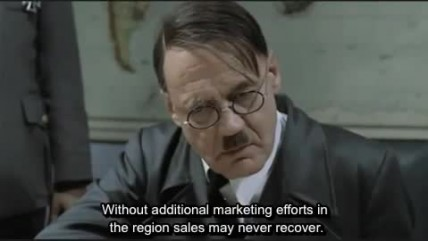 Hitler hears about Valkyria Chronicles 2