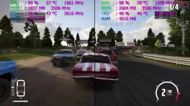 Сравнение : GTX 1050 vs GTX 1050 Ti (i3 8100)