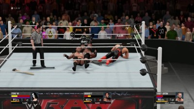 2K16 Online Random Triple threat match - Orton VS Sting VS Booker T