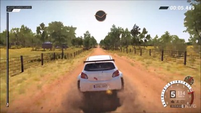 DiRT 4 - Mitsubishi Space Star R5 Геймплей (ПК HD)