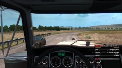 Геймплейное видео, демонстрирующее расширение Oregon в American Truck Simulator. Работа в процессе.