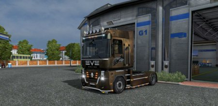 Скин EVE для Renault Magnum