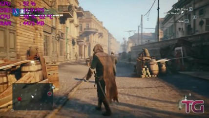 Ryzen 0 0700 in Assassin's Creed Unity (GTX 0060)