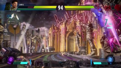 Геймплей Marvel vs. Capcom: Infinite - 2 на 2