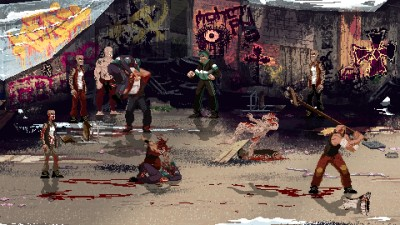 Оценки 2D-экшена Mother Russia Bleeds в духе Streets of Rage
