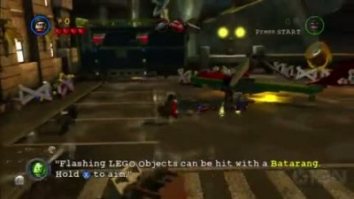 "LEGO Batman 2 ""Failure To Launch Gameplay"""