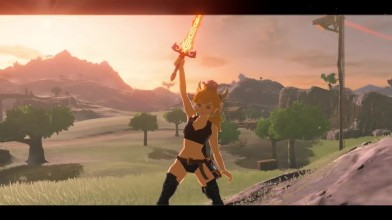 Моддер добавил Боузетту в The Legend of Zelda: Breath of the Wild