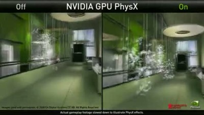 "Mirror's Edge ""NVIDIA Physx Demo"""