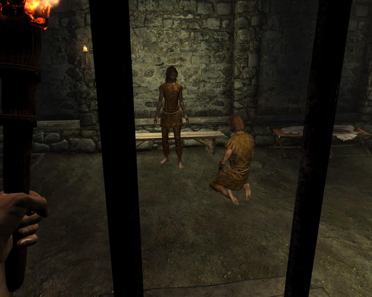 Мод на Скайрим на Тюрьму