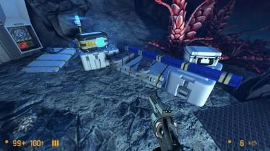 Black Mesa Xen - трассировка лучей