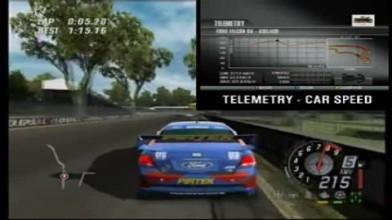 ToCA Race Driver 3 - Telemetry