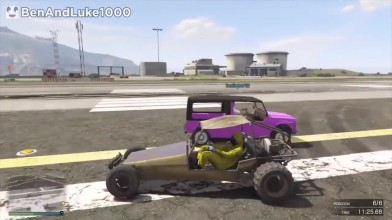 Grand Theft Auto 5 - Thug Life и Забавные моменты (Победы, Трюки и Неудачи #59)