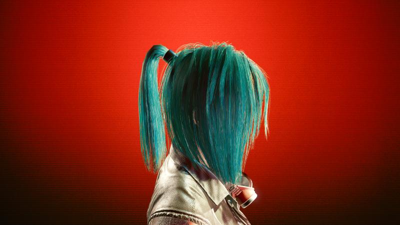 Teal Ash (14 цвет прически в Save Editor)