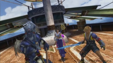 Final Fantasy X HD Remastered на русском языке. Нападение Сина. Серия 6