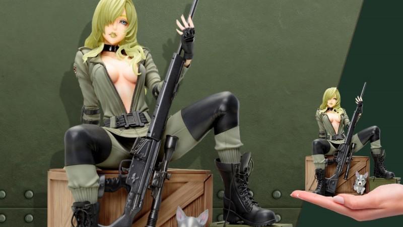 Фигурка Снайпера Вульф из Metal Gear Solid