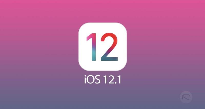 Картинки по запросу ios 12.1