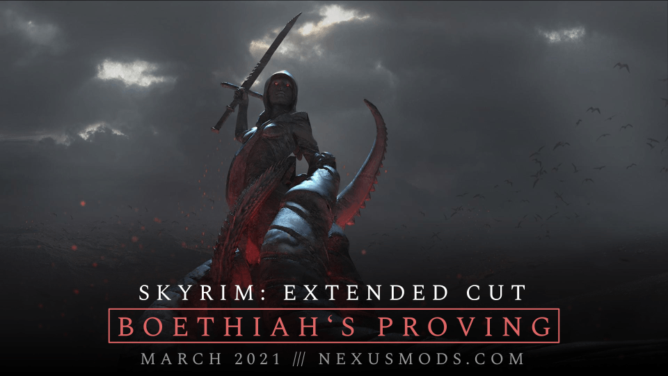 Анонсирована модификация Skyrim EC: Boethiah's Proving