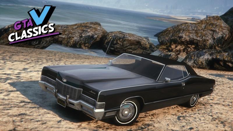 Автомобиль 1971 Mercury Marquis Brougham для Grand Theft Auto 5.