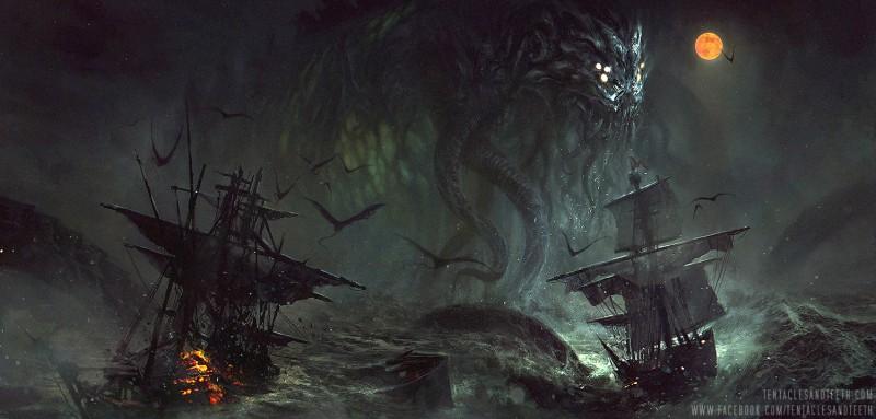 Cthulhu and Pirates