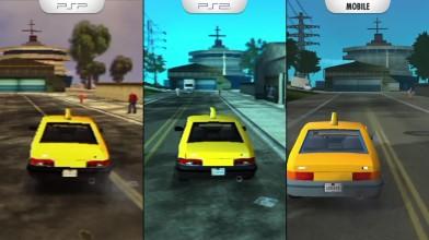 GTA: Liberty City Stories - Сравнение графики