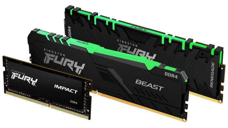Kingston FURY: новый бренд оперативной памяти с приличным заводским разгоном