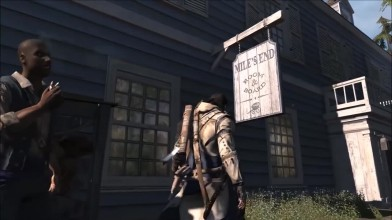 Assassin's Creed 3 - Об этой пасхалке никто не знал - Самая редкая пасхалка на Дезмонда