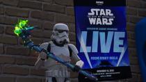 """В Fortnite покажут сцену из фильма """"Star Wars: The Rise of Skywalker"""" в следующие выходные"""