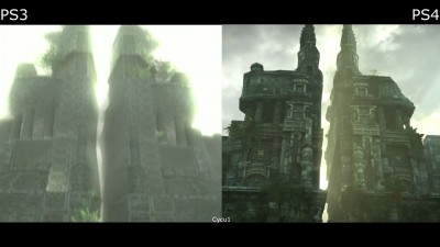 Сравнение графики - Shadow of the Colossus PS3 vs PS4 Pro 4K (Cycu1)