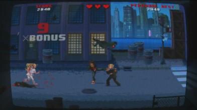 "Kung Fury: Street Rage ""Геймплей на PS Vita"""