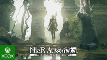 Трейлер к выходу NieR: Automata: Become as Gods Edition для Xbox One