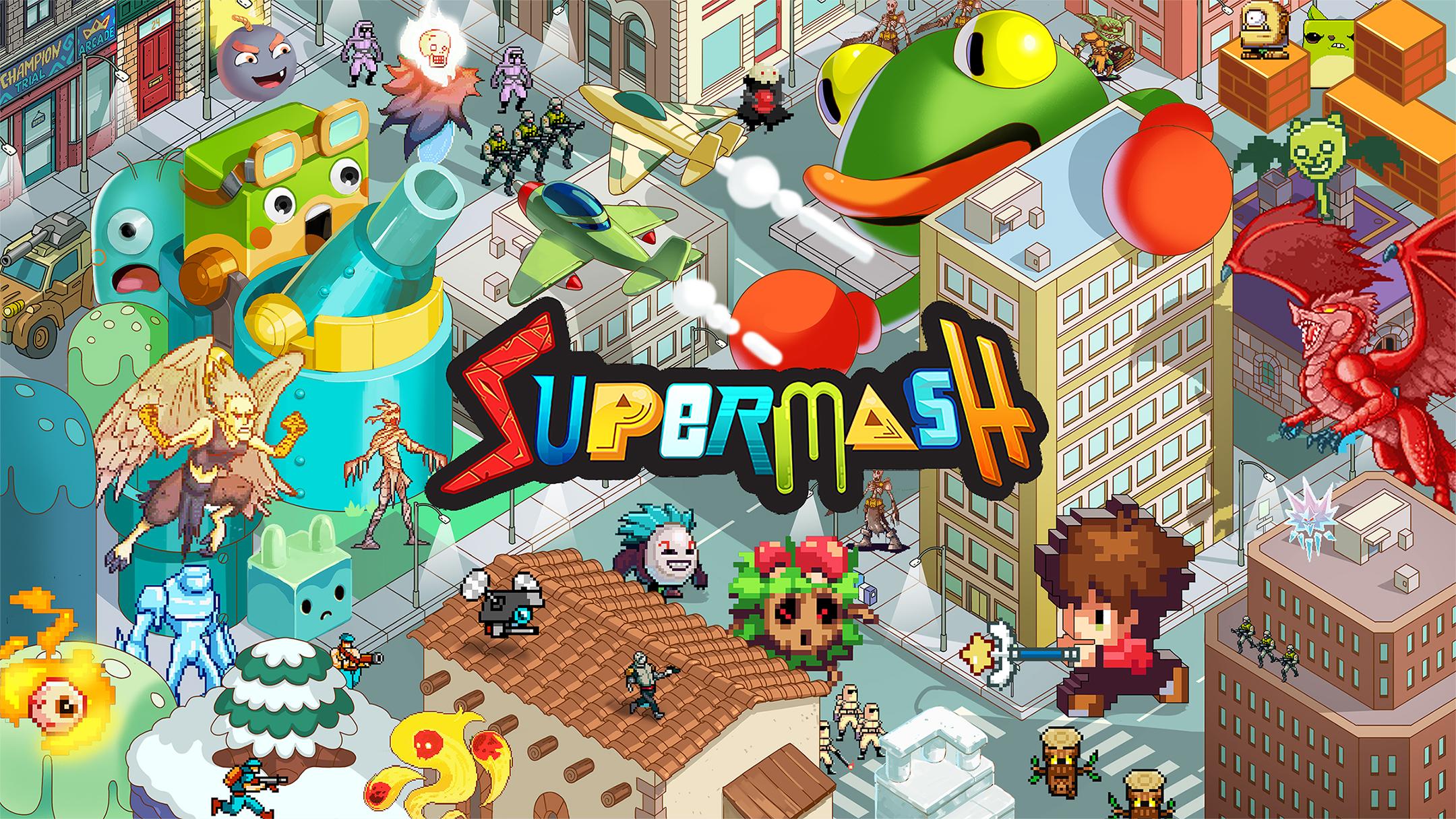 25 минут игрового процесса SuperMash с гибридной консоли