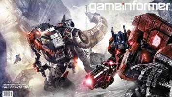 Transformers: Fall Of Cybertron в ноябрьском номере GameInformer