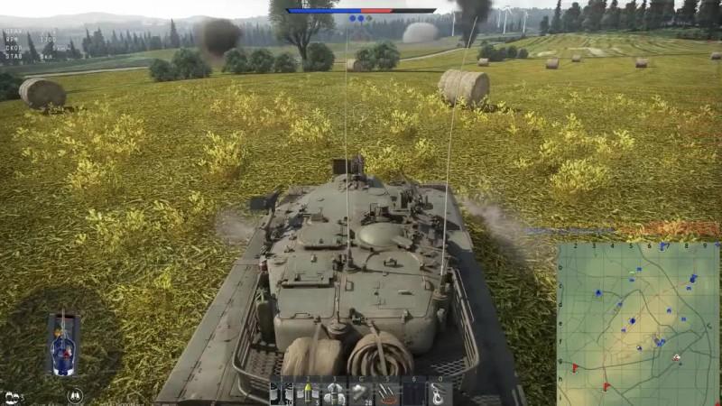 Merkava Mk.1 в бою War Thunder!Это Больно? эксклюзив!