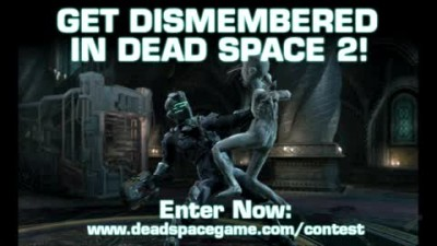 "Dead Space 2 ""Melee Attack Contest Featurette"""