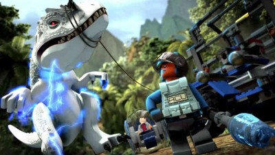 Lego Jurassic World заняла первое место в британском чарте